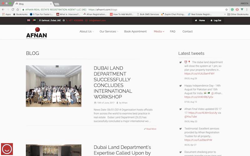 Afnan Real Estate Registration Trustee Blog